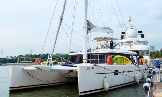 Charter 62' Cruising Catamaran In Singapore