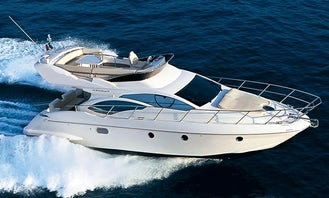Charter Azimut 42 Motor Yacht In Ixtapa