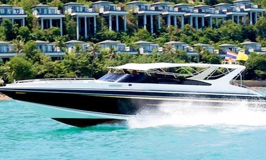 Charter 38' Motor Yacht In Ko Samui, Thailand
