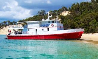 Enjoy Fishing in Burnett Heads, Queensland on 80' Power Catamaran