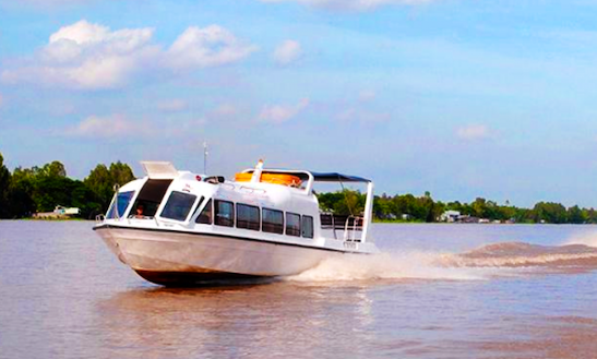 Chau Doc To Phnom Penh By Speedboats $43 Usd Per Person