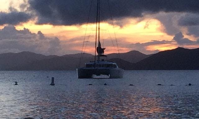 Sailing Catamaran Available For Charter in the Caribbean
