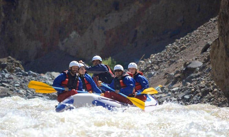 Whitewater Rafting Tour In Argentina