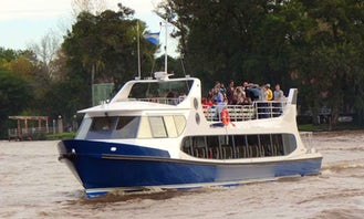 """River Cruises on the """"Don Angel S"""" Boat in Buenos Aires"""