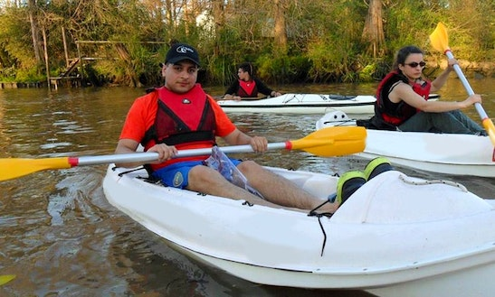 Tandem Kayak For Hourly Rental In Tigre, Argentina