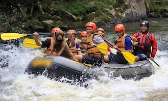 Raft with Canoar in Juquitiba and other places in SP