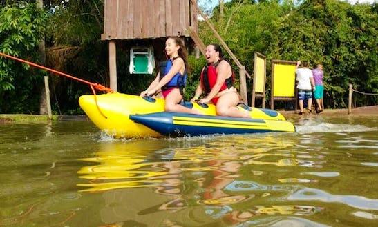 Bananaboat Em Brotas, Sp