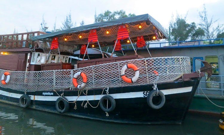 Charter a Canal Boat rental in Ho Chi Minh City
