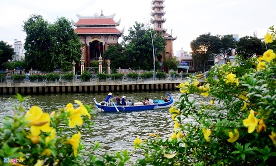 Charter A Canal Boat In Ho Chi Minh City, Vietnam