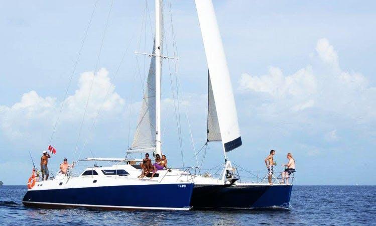 Charter 48' Ocean Spirit Catamaran in Trinidad and Tobago