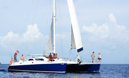 Charter 48' Ocean Spirit Catamaran In Trinidad And Tobago