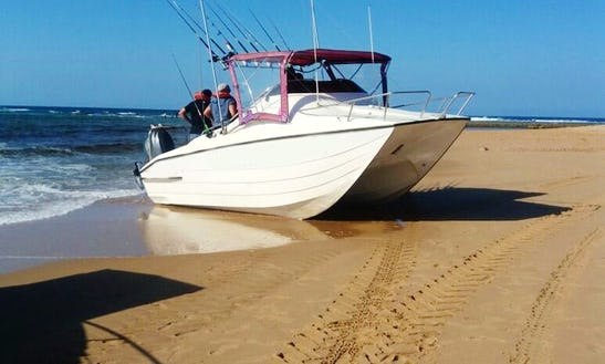 Enjoy Fishing In Esiphahleni, South Africa On 22' King Cat Cuddy Cabin