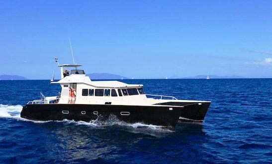 Charter 48' Power Catamaran In Antisiranana, Madagascar