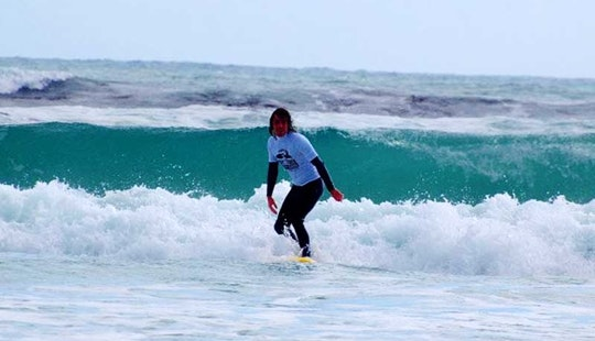 Exciting Surfing Lesson At Eden On The Bay In Cape Town, South Africa