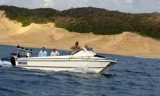 Enjoy Fishing In Richards Bay, South Africa On Power Catamaran