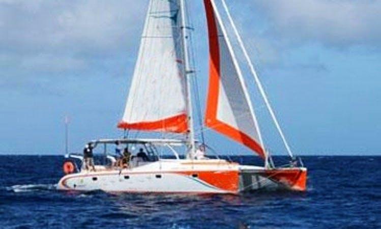 Charter 39' Cruising Catamaran in Grand Baie, Mauritius