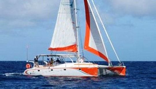 Charter 39' Cruising Catamaran In Grand Baie, Mauritius