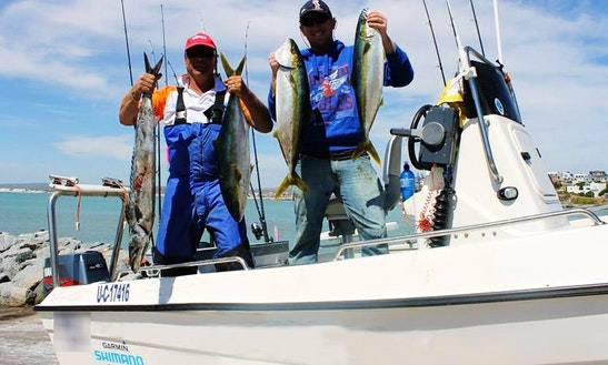 Enjoy Fishing In Cape Town, Western Cape On Center Console