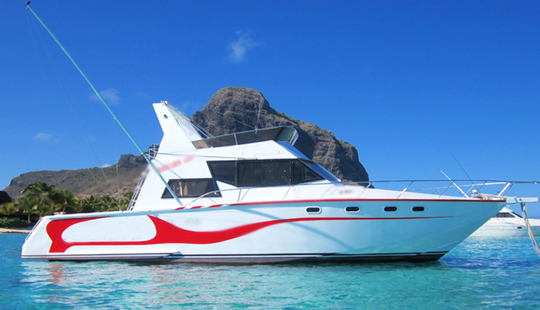 Enjoy Fishing In Le Morne Brabant, Mauritius On 40' Sport Fisherman