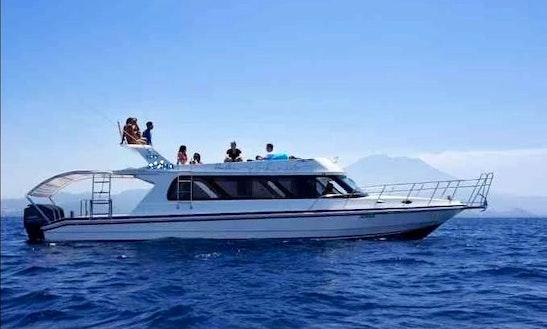 Bali Boat Charter 43' Motor Yacht In Bali, Nusa Lembongan And Gili