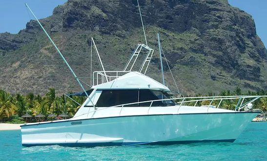 Enjoy Fishing In Le Morne, Mauritius With Captain Billy