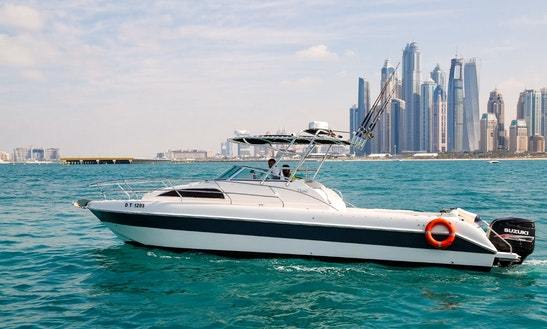 Hit The Water In Dubai - Charter This 34' Silver Craft Yacht