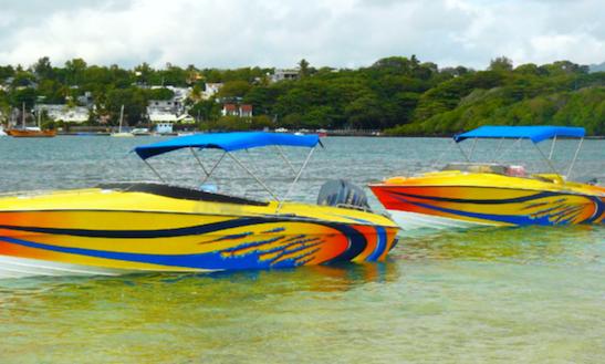 Power Boat Charter In Quatre Cocos, Mauritius