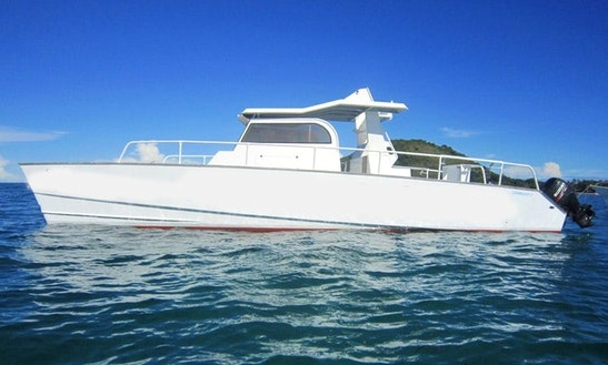 Enjoy Fishing In Nosy Be, Madagascar On 39' Fish & Loc Power Catamaran