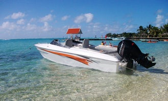 Explore Mahebourg, Mauritius - Rent a Bowrider for up to 15 people