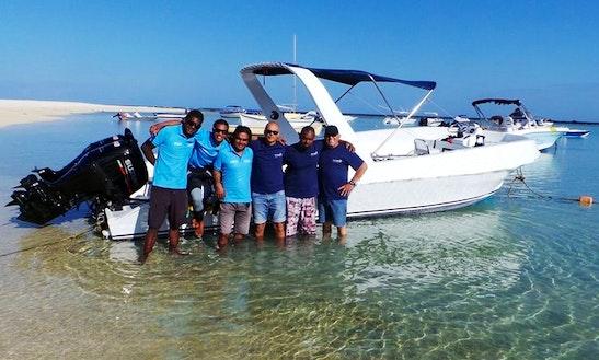 Speed Boat  In Flic En Flac Mauritius