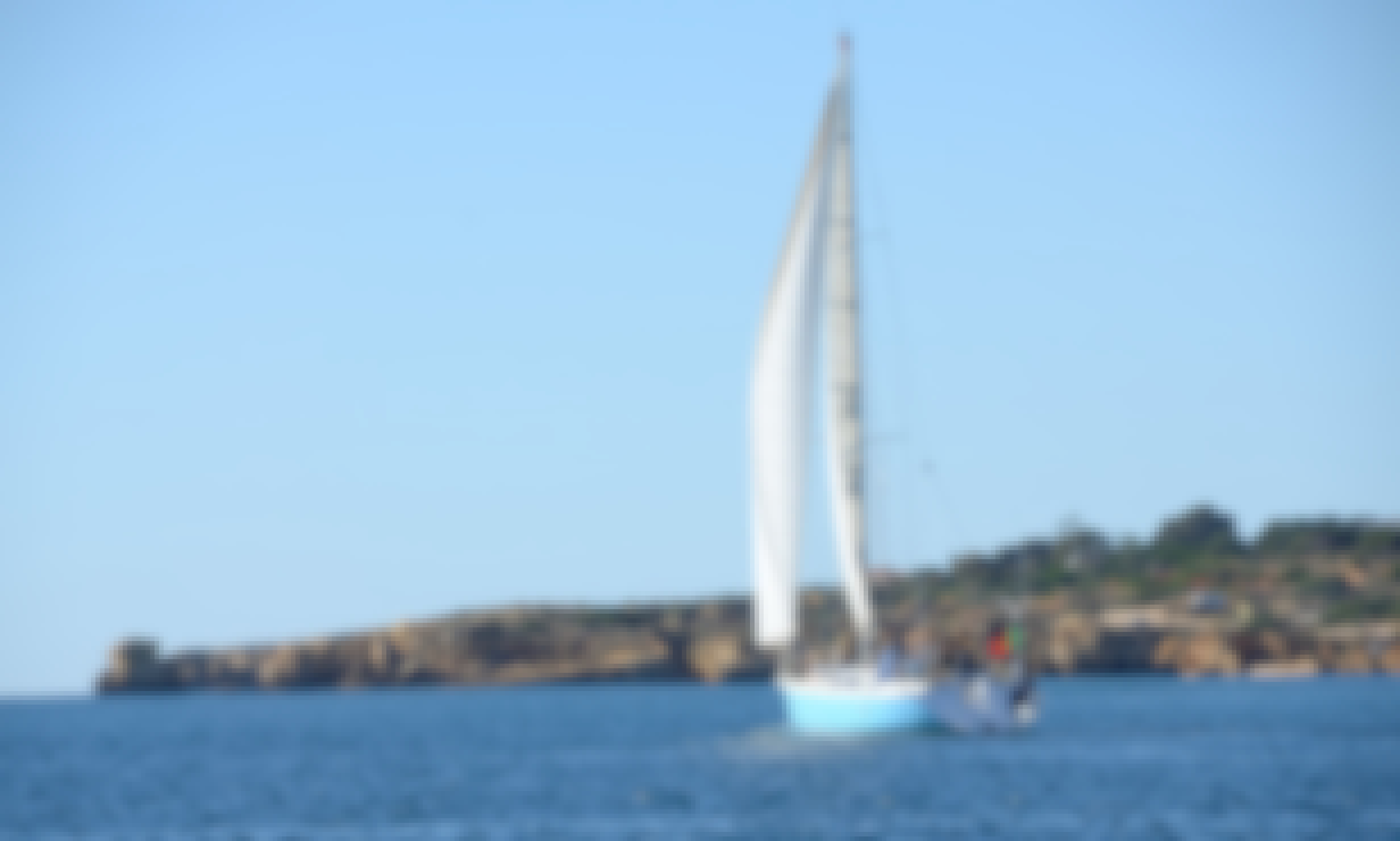 Private Charter Sailing Yacht: Sail the Coast and Beach BBQ