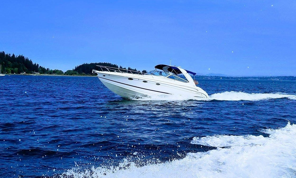 Immaculate 2007 Formula 370 SS for rent on Lake Washington or Lake Union