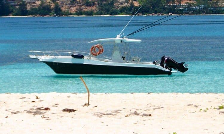Explore Praslin and surrounding islands.