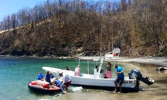 Tamarindo Fishing Charter On 26ft Super Panga Boat