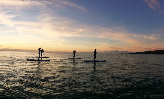 Paddleboard Lessons & Hire In Saundersfoot, Pembrokeshire
