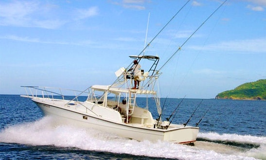36' Sport Fishing Charter In Tamarindo Costa Rica