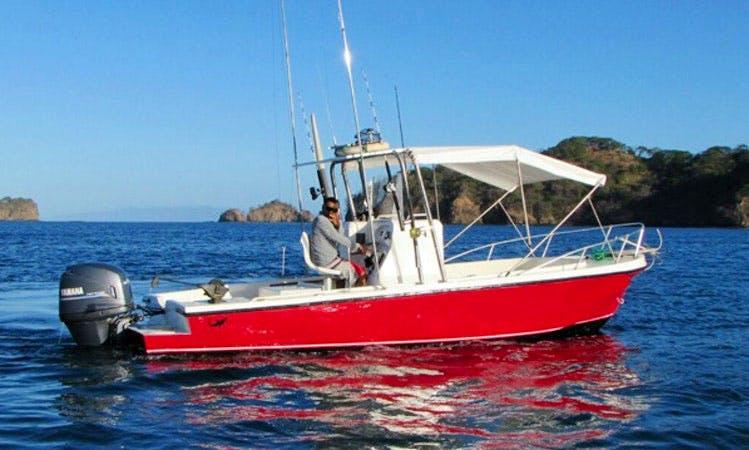 Charter 22' MAKO Fishing Boat in Costa Rica