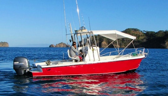 Charter 22' Mako Fishing Boat In Costa Rica
