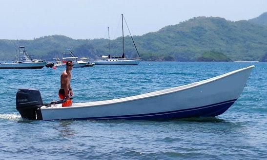 18' Panga Dive Boat In Tamarindo