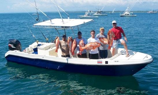 Charter Fishing Boat 'mirse Azul'  In Costa Rica