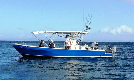 Rent A Center Console In Coco, Costa Rica For Island Hopping Fun