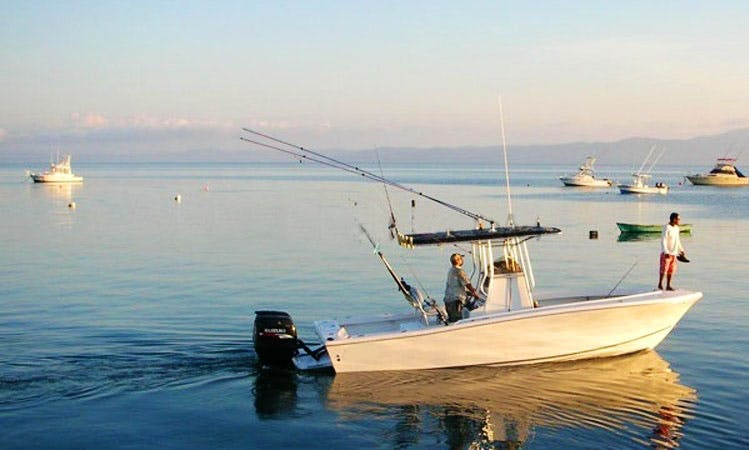 Center Console Fishing Trips in Puerto Jimenez, Costa Rica with Captain Cory