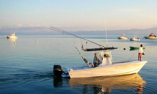 Center Console Fishing Trips In Puerto Jimenez, Costa Rica