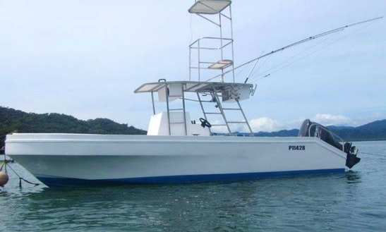Center Console Fishing Charter In Provincia De Puntarenas