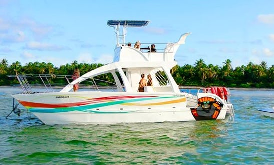 Private Catamaran Cruise For 35 People In Punta Cana, Dominican Republic