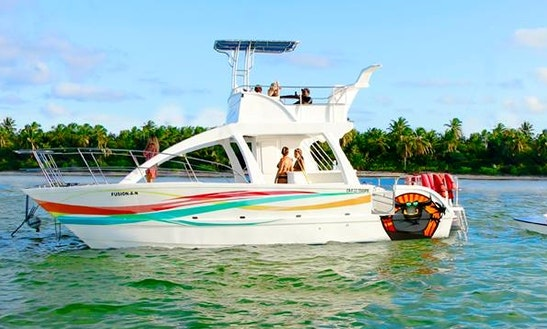 Private Catamaran Cruise For 35 People In Punta Cana, Dominican Republic