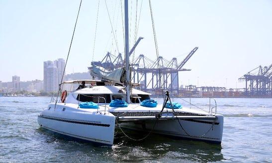 Charter 38' La Paola Catamaran In Cartagena ,colombia