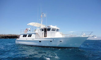 Charter 52' Santa Fe III Trawler in Guayaquil, Ecuador