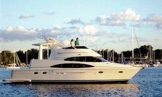 Charter 44' Carver Motor Yacht in Boca del Río, Mexico
