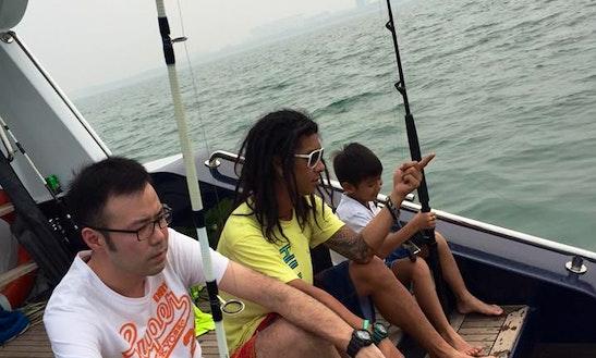 Motor Yacht Fishing Charter In Nusajaya